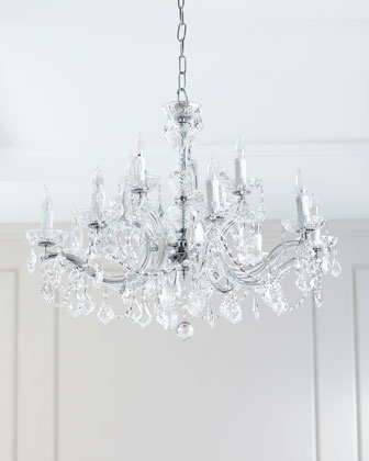 12-Light Maria Theresa Chandelier