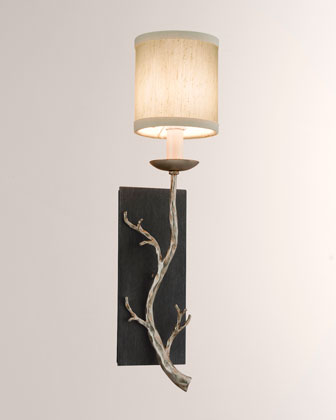 Golden Branch Sconce