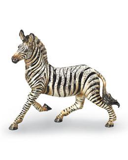 "Jay Strongwater ""Ansel"" Zebra Figurine"