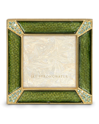 "Jay Strongwater ""Leland"" Square Frame"