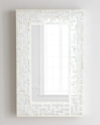 MOP Fretwork Mirror