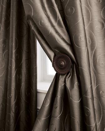 Valencia Scroll Curtains