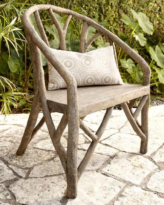 Artemis Faux Bois Chair