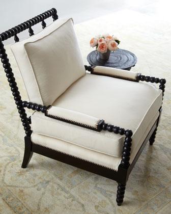 Ellsworth Neutral Spindle-Back Chair