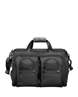 Tumi Alpha Deluxe Carry-On Satchel Bag