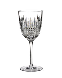 "Waterford Crystal ""Lismore Diamond"" Red Wine Glass"