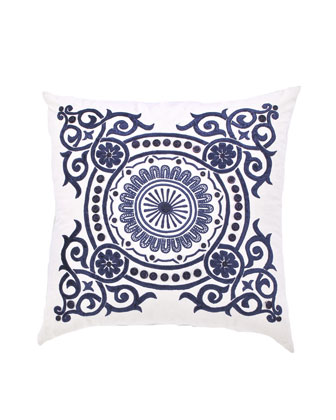 Blue-and-White Pillow Collection