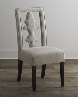 "NM EXCLUSIVE ""Benjamin"" Linen Chair"