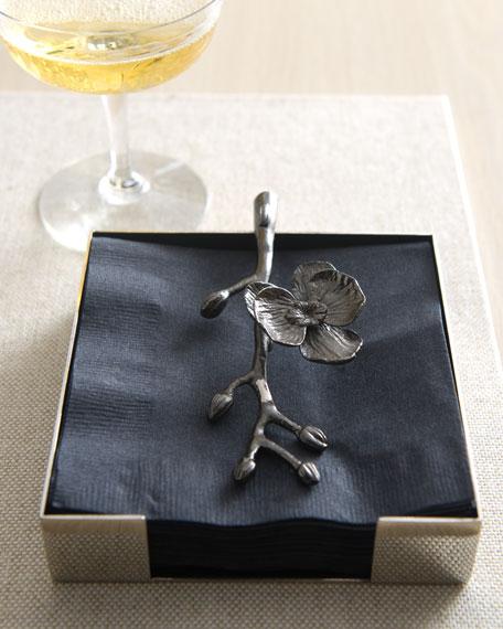 Michael Aram Black Orchid Napkin Holder