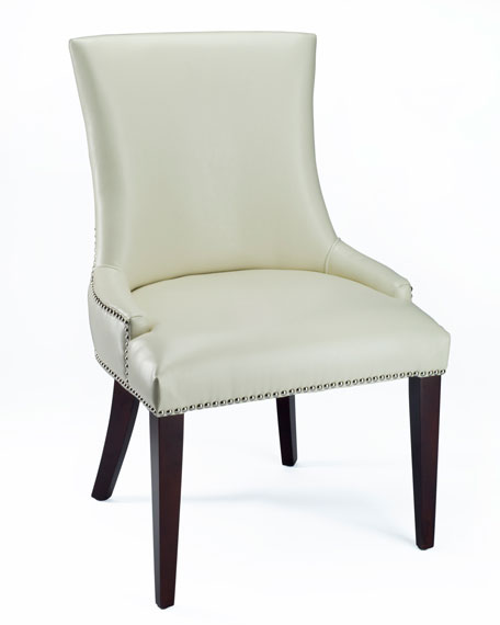 """""""Leticia"""" Leather Dining Chair"""