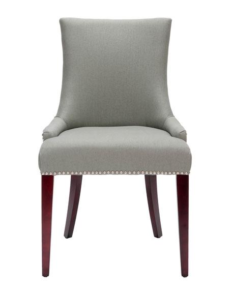 """""""Becca"""" Linen Dining Chair"""