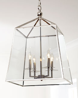 Regina-Andrew Design Square Glass Chandelier