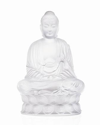 Clear Buddha Figure