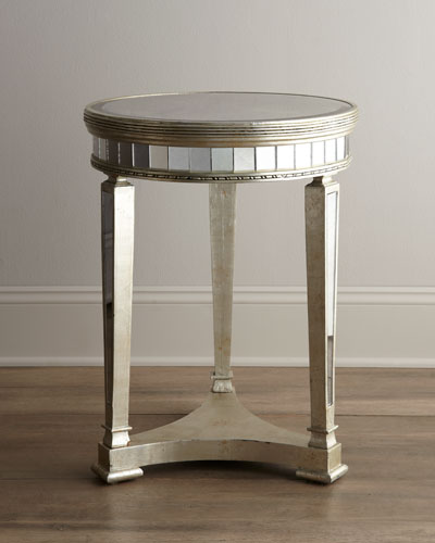 """""""Amelie"""" Mirrored Lamp Table"""