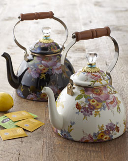 MacKenzie-Childs Flower Market Teakettle