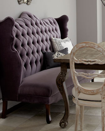 Isabella Wing Banquette