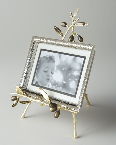Michael Aram Olive Branch Easel Picture Frame