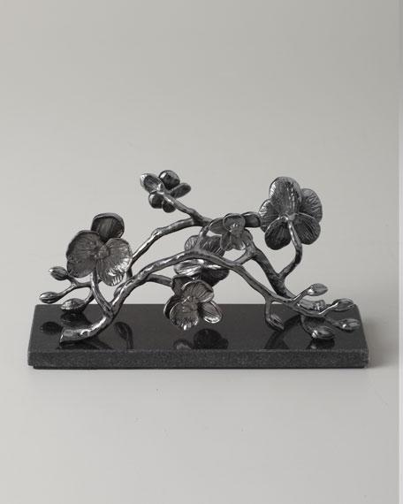 Black Orchid Vertical Napkin Holder