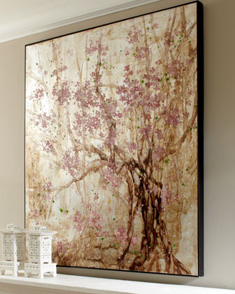 "Sale alerts for John-Richard Collection ""Plum Blossom"" Painting - Covvet"