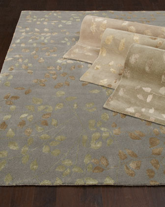 Tufted Leaves Rug