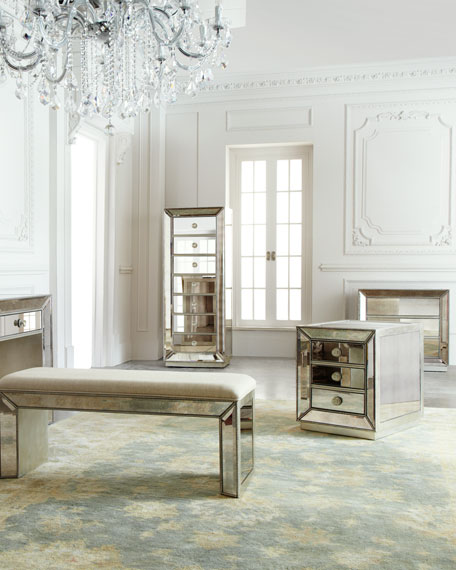 Shilo Mirrored Side Table
