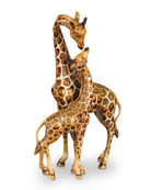 Mother & Baby Giraffe Figure