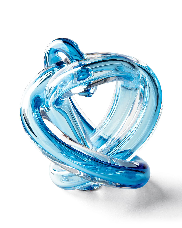Blue Knot Sculpture - Neiman Marcus