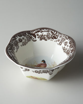 Pheasant Nut Bowl