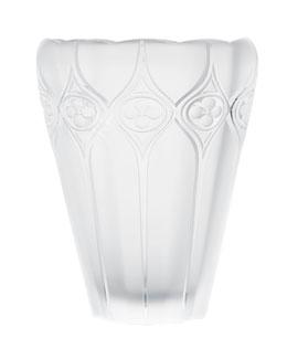 """Lalique """"Palazzo"""" Crystal Vase"""