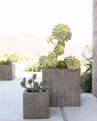 Large Tree Bark Planter