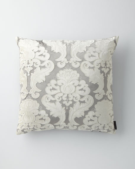 "Velvet Versailles Pillow, 22""Sq."