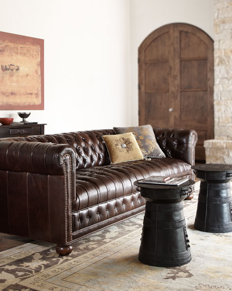 "Royal 93"" Chesterfield Sofa"