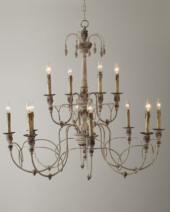 Two-Tier Salento Chandelier