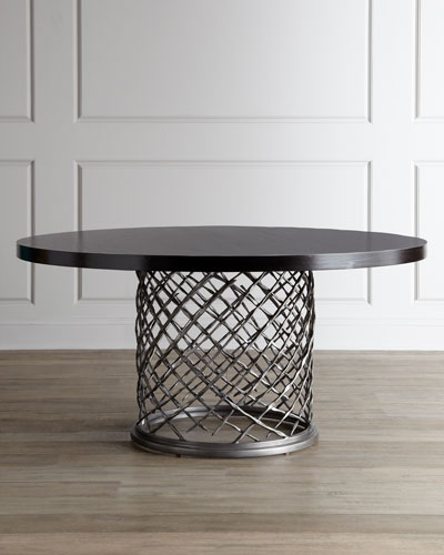 "Bernhardt ""Rory"" Round Dining Table"