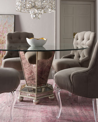 Haute House Eclipse Chair & Dawson Dining Table