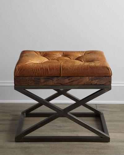 """Warona"" Leather Bench"