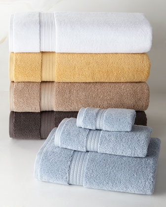 Six-Piece Essentials Towel Set, Plain