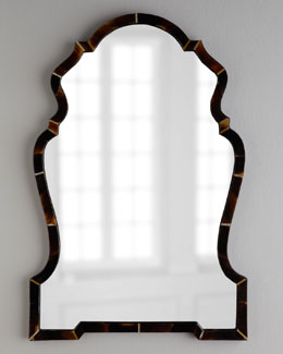 """Horn """"Chippendale"""" Mirror"""