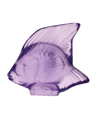 Blue Sapphire Angelfish Figurine
