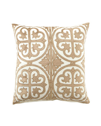 Ivory & Taupe Venice Collection Pillows