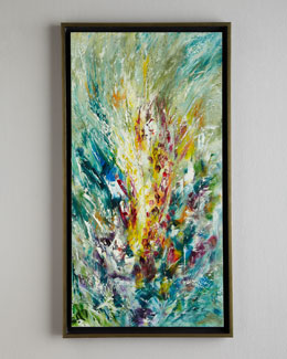 "John-Richard Collection ""Gladiolus"" Jinlu Oil Painting"