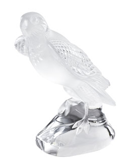 Lalique Falcon Sculpture