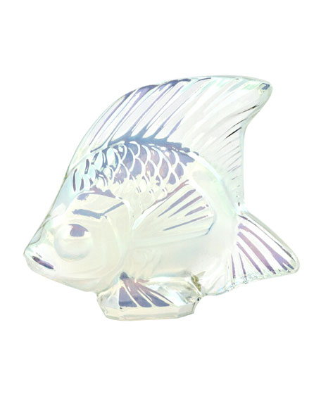 Lalique Lustre Opal Fish