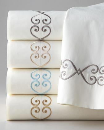 Embroidered Charleston 350TC Sheets