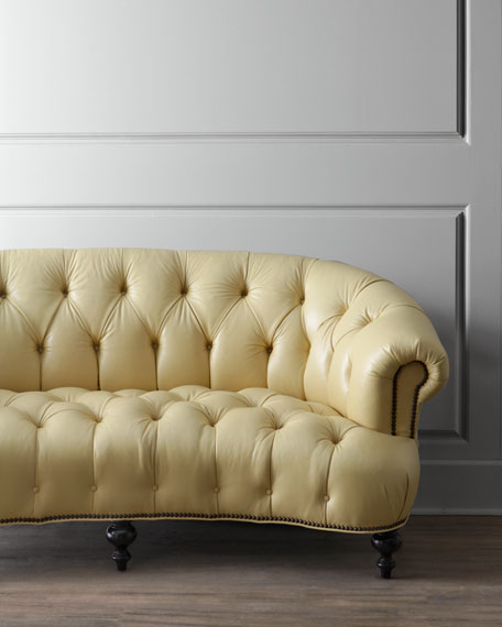 Lenoir Yellow Sofa