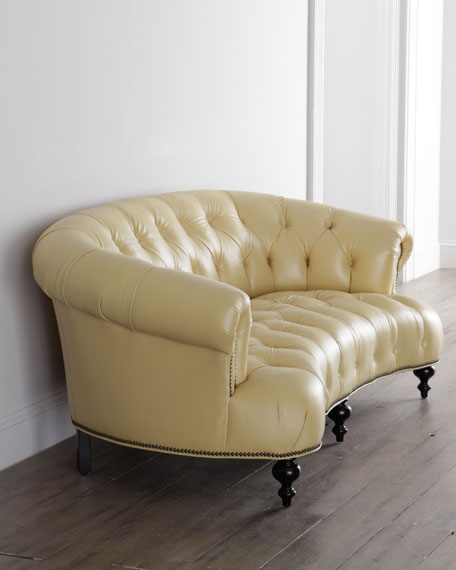 Lenoir Yellow Sofa