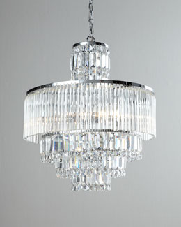 """Rossborough"" Crystal Chandelier"