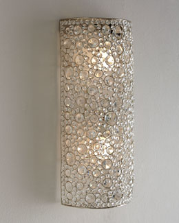 "Four Hands ""Scattered Crystal"" Sconce"