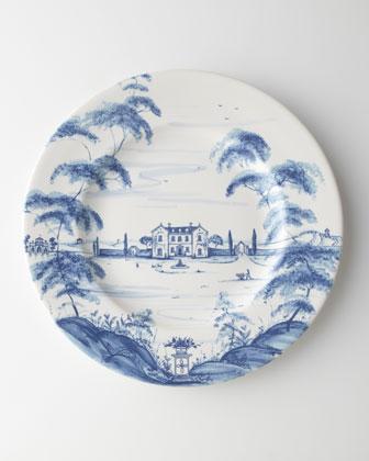 Delft-Blue Country Estate Dinnerware