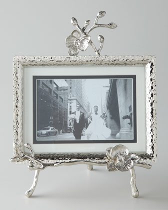 White Orchid Easel Frame